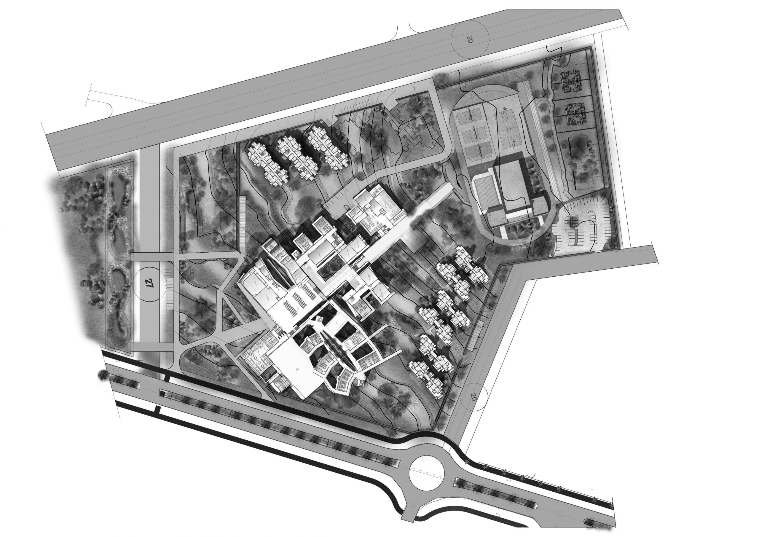 plan rdc general 500N&B